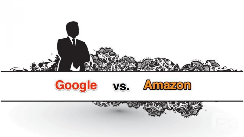 The Battle Fronts Between Amazon & Google