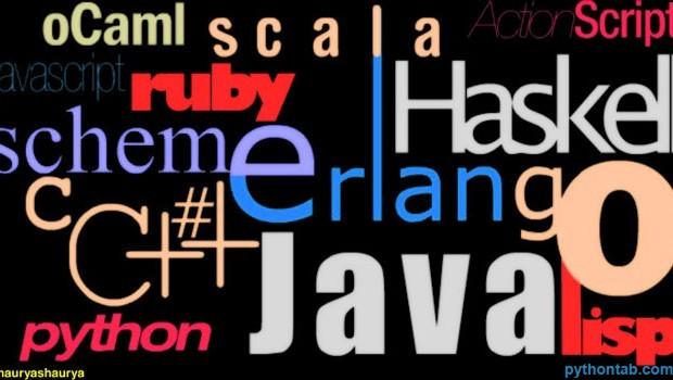 各种各样的编程语言