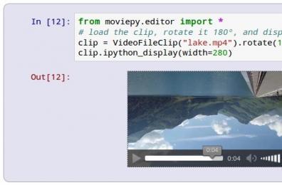 Python视频编辑库:MoviePy